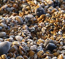 Frozen Pebbles - Winchelsea Beach by Dan Bevan Photography