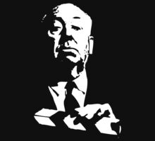 Alfred Hitchcock by Karl Whitney