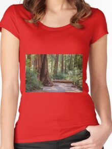 Big Basin Redwoods State Park Women's Fitted Scoop T-Shirt
