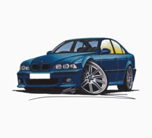 BMW M5 (E39) Blue T-Shirt
