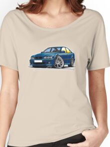 BMW M5 (E39) Blue Women's Relaxed Fit T-Shirt