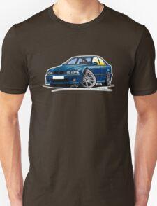 BMW M5 (E39) Blue Unisex T-Shirt