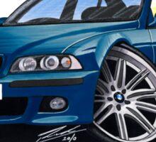 BMW M5 (E39) Blue Sticker