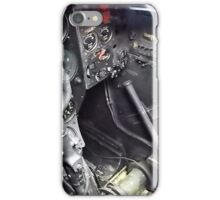 """"""" Cockpit of the Gloster meteor iPhone Case/Skin"""