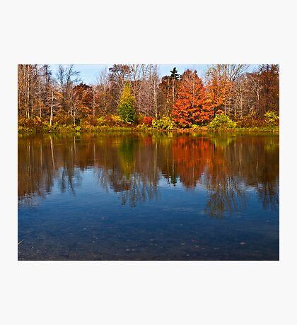 Presque Isle Autumn - Erie, PA Photographic Print