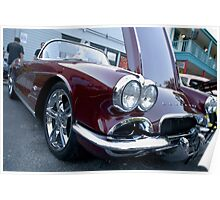 1962 Corvette Roadster Convertible Poster