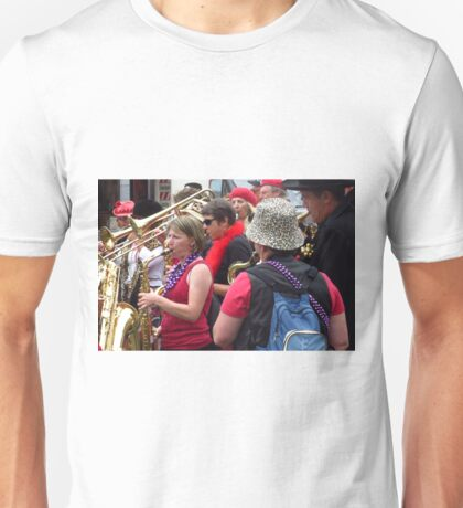 Mazey Day, Penzance - Red Unisex T-Shirt