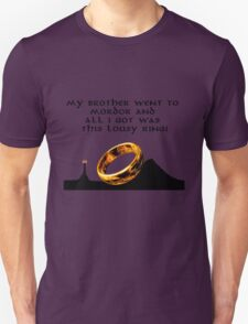 my brother went to Mordor T-Shirt