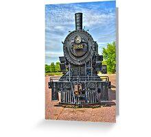Engine 2645 Greeting Card