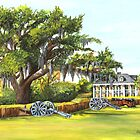Beauregard Plantation by Elaine Hodges