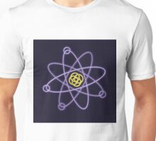 Gold - Silver Atomic Structure Unisex T-Shirt