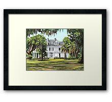 Kenilworth Plantation Framed Print