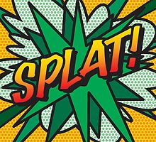 Comic Book SPLAT! by theimagezone