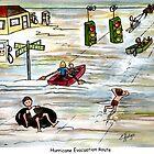 Hurricane Evacuation Route! by Elaine Hodges