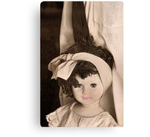 Standing Next To Daddy Canvas Print
