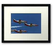 Patrulla Aguilar Spanish Air Team Framed Print