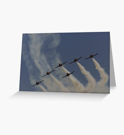 Patrulla Aguilar Spanish Air Team Greeting Card
