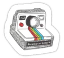Polaroid Camera Sticker