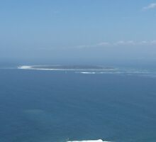 Robben Island..at a distance by CharziG
