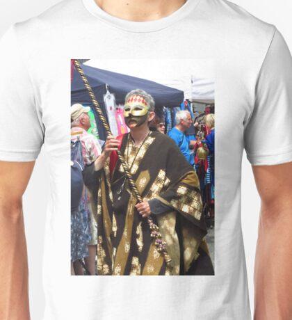 Mazey Day, Penzance - Gold Unisex T-Shirt