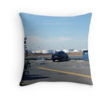 8 wheels and a Trapped SUV.  Throw Pillow