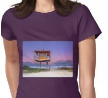 Sandy Sundown - Gold Coast Qld Australia Womens Fitted T-Shirt