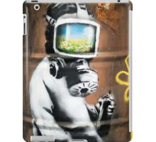 Banksy at HMV iPad Case/Skin