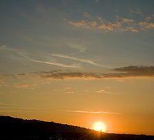 Burning Sunset,Sassuolo,Italy by Davide Ferrari