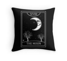 The Moon Tarot Throw Pillow