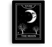 The Moon Tarot Canvas Print