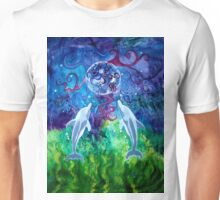Dolphin Gaze (Square) Unisex T-Shirt
