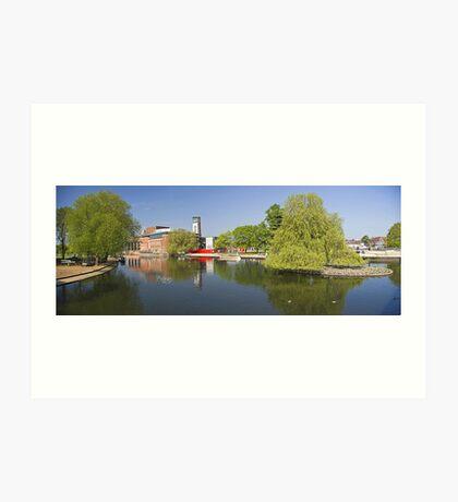 Stratford panorama Art Print