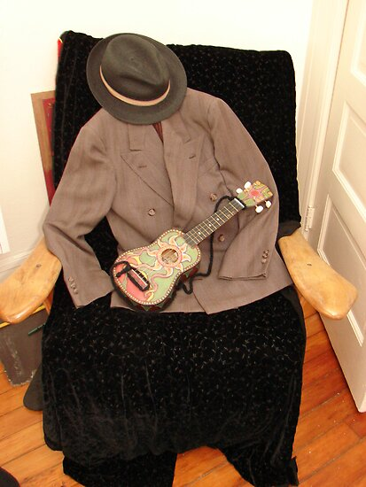 Jacket, Hat & Ukulele by Honario