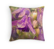 A Velvety Evening In May Throw Pillow
