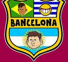 Bancelona (Badge) by 442oons