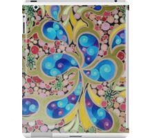 Psychedelic Blue Paisley  iPad Case/Skin
