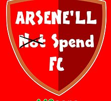 Arsene'll Not Spend FC (BADGE) by 442oons