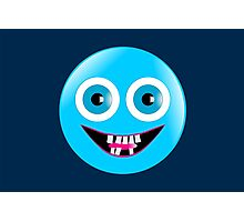 Bad Teeth Smiley Photographic Print