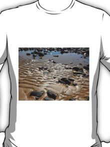 Sand Ripples on the beach, Penguin, Tasmania, Australia. T-Shirt