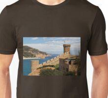 Vila Vella enceinte, Tossa de Mar Unisex T-Shirt