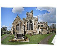 All Saints Church, Biddenden Poster