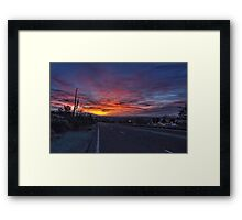 Dawn is a Feeling Framed Print