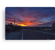 Dawn is a Feeling Canvas Print