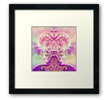 Pink Genie Framed Print