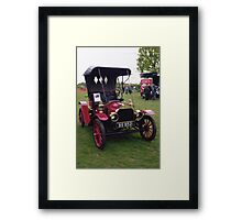 Brush Runabout. Framed Print