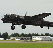 The Lancaster Bomber Taking Off by Shane Ransom