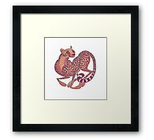 Cheetah Framed Print