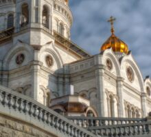 Cathedral of Christ the Saviour - HDR Sticker