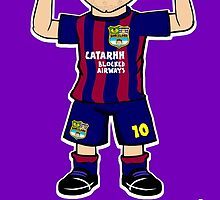 Lionel Messigician by 442oons
