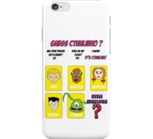 Guess CthulWho? iPhone Case/Skin